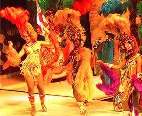 Samba-Show in Rio de Janeiro